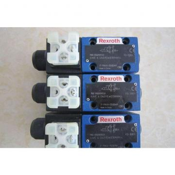 REXROTH 4WE 6 J6X/EW230N9K4 R900911762 Directional spool valves